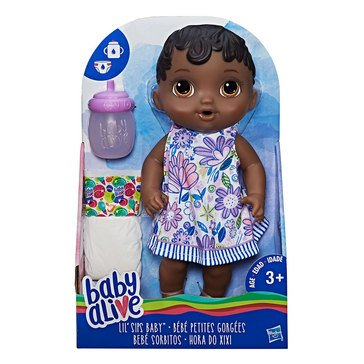 Baby Alive Lil' Sips Black Haired Baby Doll