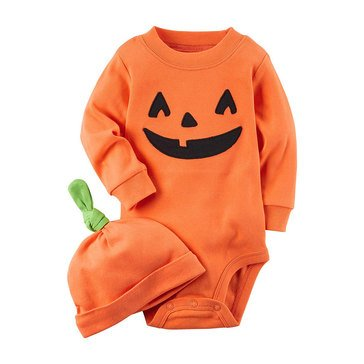 Carter's Infant Halloween Bodysuit With Hat