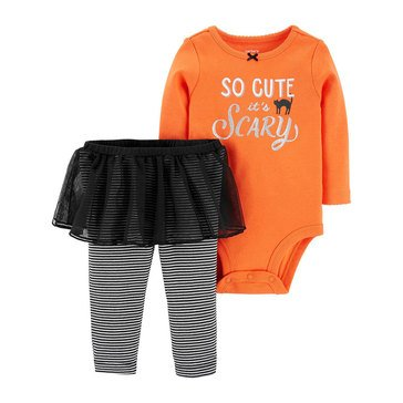 Carter's Baby Girls' 2-Piece Halloween Tutu Set
