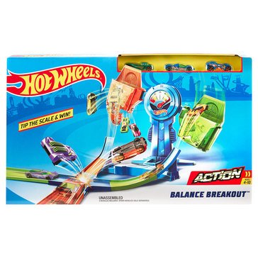 Hot Wheels Balance Breakout Track Set