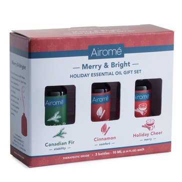 Candle Warmers Etc. Canadian Fir Essential Oil Holiday Gift Set