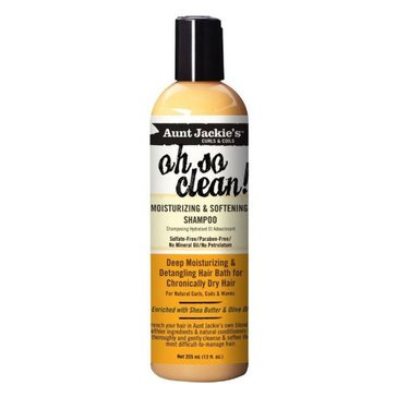 Aunt Jackie's Oh So Clean Shampoo 12oz