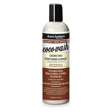 Aunt Jackie's Coco Wash Coconut Milk Conditioning Cleanser 12oz