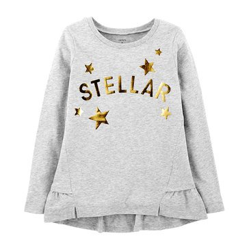 Carter's Little Girls' Stellar Star Tee