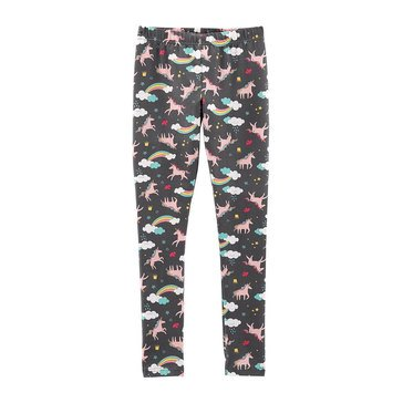 Carter's Little Girls' Grey Unicorn Leggings
