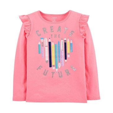 Carter's Little Girls' Create The Future Tee