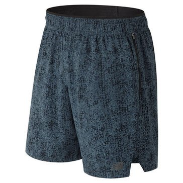 New Balance Men's Printed 2-in-1 Shorts