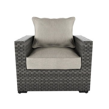 Ashley Spring Dew Lounge Chair with Cushion (P453-820)