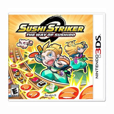 3DS Sushi Striker: The Way of the Sushido