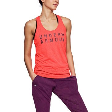 Under Armour Women's Threadborne Training Graphic Twist Tank