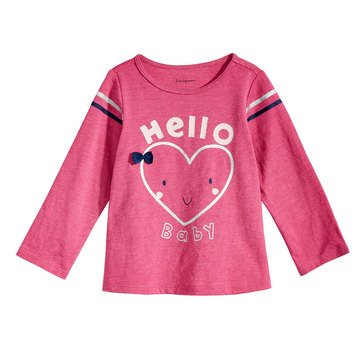 First Impressions Baby Girls' Hello Baby Tee