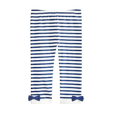 First Impressions Baby Girls' Stripe Leggings with Bow