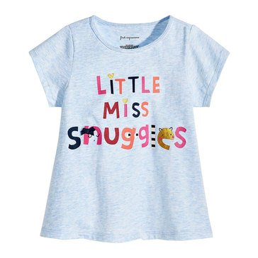 First Impressions Baby Girls' Miss Snuggles Tee
