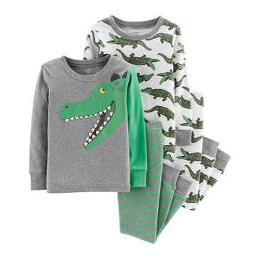 Carter's Baby Boys' 4-Piece Cotton Pajamas Set