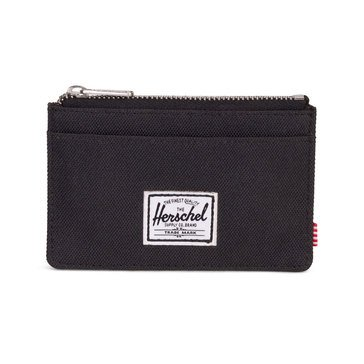 Herschel Oscar Leather Zip Top Wallet