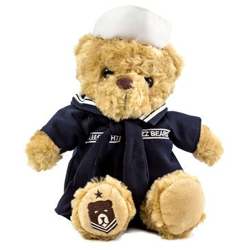 ZZZ Bears Navy Sailor Sleeptight Plush Bear