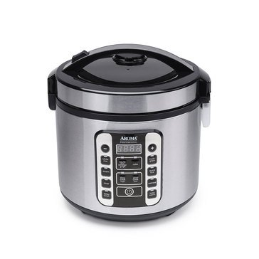 Aroma 20-Cup Professional Digital Rice Cooker (ARC-1020SB)