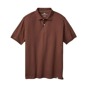 Eight Bells Men's Pique Polo in Fashion Colors