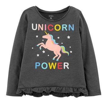 Carter's Toddler Girls' Unicorn Power Tee
