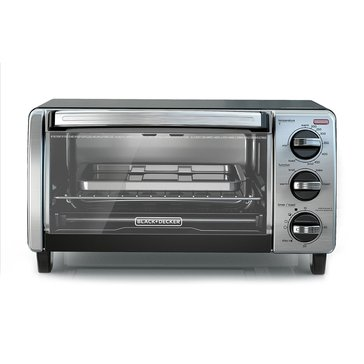 Black & Decker 4-Slice Toaster Oven with Natural Convection