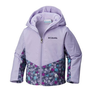 Columbia Baby Girls' Steens Mountain Overlay Hoodie Jacket