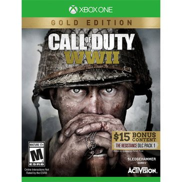 Xbox One Call of Duty WWII Gold Edition w/DLC