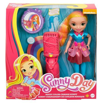 Fisher-Price Sunny Day Magic Hair Sunny Doll