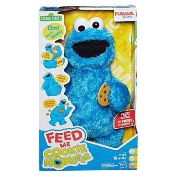 Sesame Street Feed Me Cookie Plush