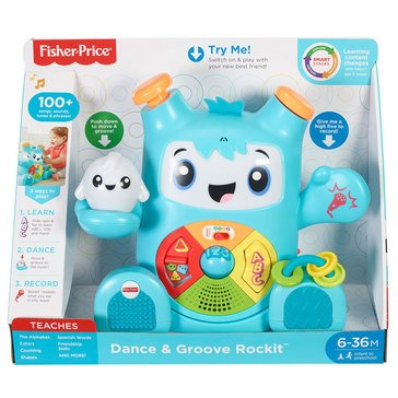 Dance & Groove Rockit and Glow Musical Toy