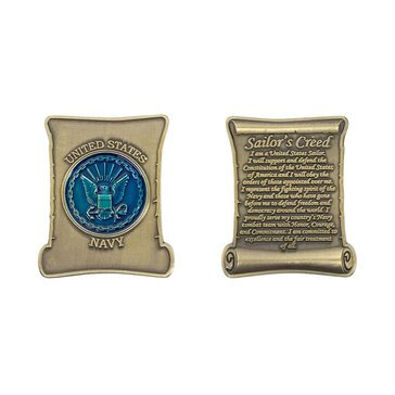 Vanguard Sailors Creed Coin