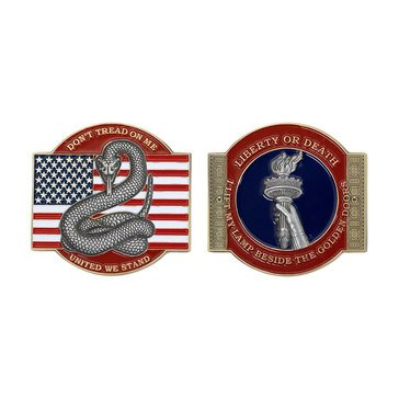 Vanguard USN Dont Tread On Me Coin
