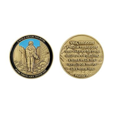 Vanguard USN I Will Fear No Evil Coin