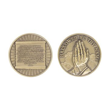 Vanguard Lords Prayer Coin