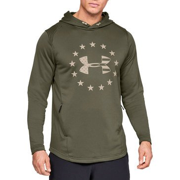 Under Armour Men's Freedom Tech Terry Pullover Hoodie