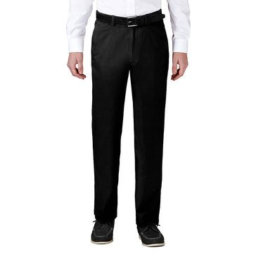 Haggar Men's Coastal Comfort Chino Flat Front Pants