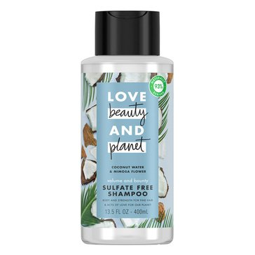 Love Beauty & Planet Coconut Water Volume & Bounty Shampoo 13.5oz