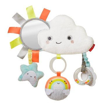 Skip Hop Silver Lining Cloud Stroller Bar Toy Cloud