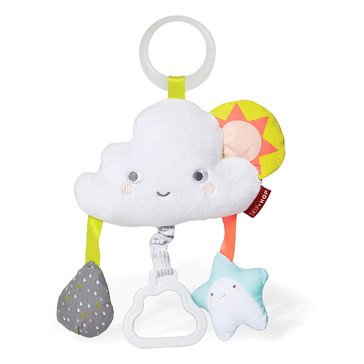 Skip Hop Silver Lining Cloud Jitter Stroller Toy Cloud