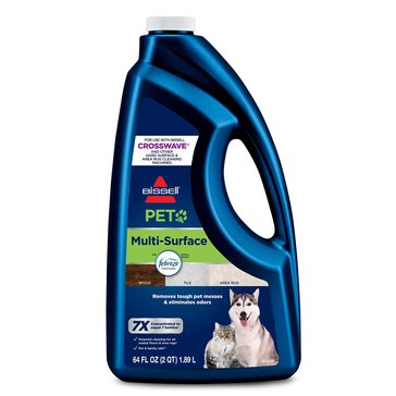 Bissell Multi-Surface Pet Vacuum With Febreze Solution