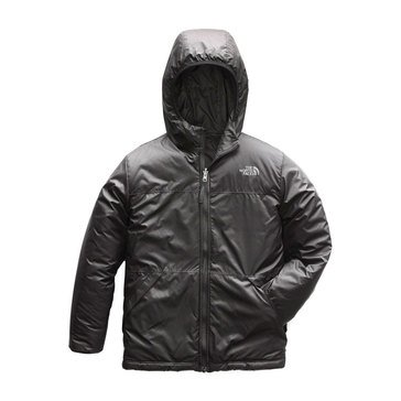 The North Face Big Boys' Reversible True Or False Jacket, Black
