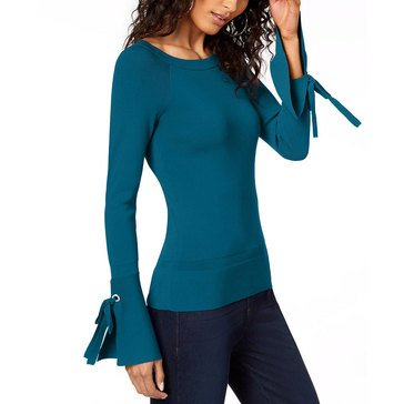 I.N.C. International Concepts Women's Bow Sleeve Sweater