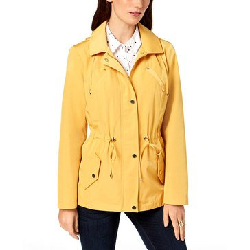 Charter Club Ls Solid Anorak Honey Glaze L