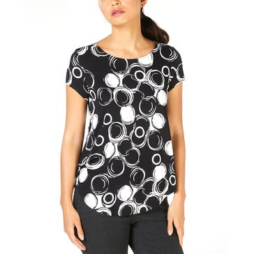 Alfani Women's Bubble Printed Tee