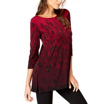 Alfani Women's Jungle Ombre Knit Tunic
