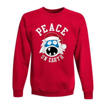 Hanes Big Boys' Peace Yeti Holiday Fleece