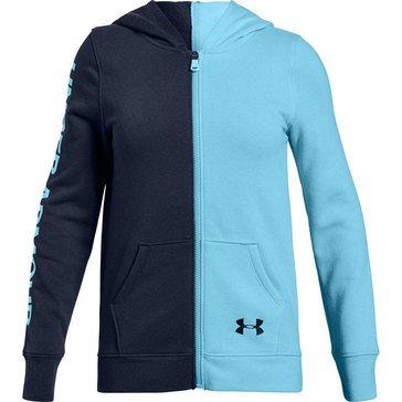 Under Armour Big Girls' Rival Full Zip Jacket