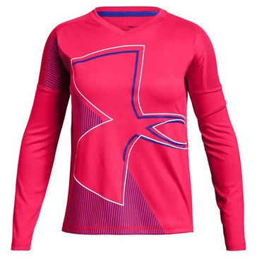 Under Armour Big Girls' Tech Long Sleeve Tee