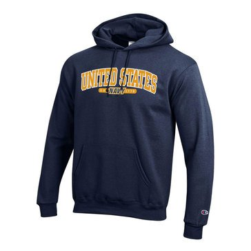 Champion Men's Powerblend Hoodie with 1775 USN