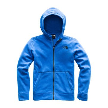 The North Face Big Boys' Glacier Full Zip Hoodie, Turkish Sea