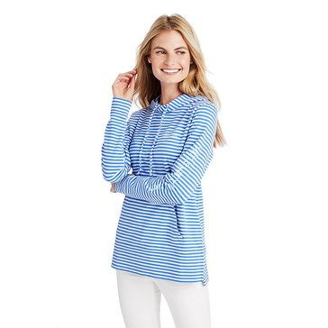 Vineyard Vines Women's Striped Whale French Terry Hoodie